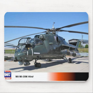 MIL 35 HIND RUSSIAN HELICOPTER MOUSE PAD