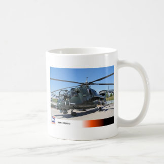 MIL 35 HIND RUSSIAN HELICOPTER CLASSIC WHITE COFFEE MUG