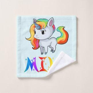 Mila Unicorn Wash Cloth