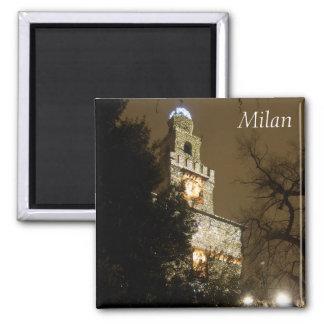 Milan Castle Magnet