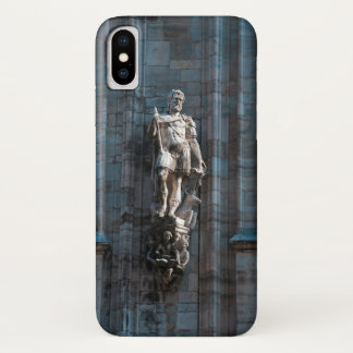 Milan Cathedral dome statue architecture monument iPhone X Case