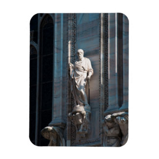 Milan Cathedral dome statue architecture monument Magnet