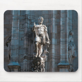 Milan Cathedral dome statue architecture monument Mouse Pad