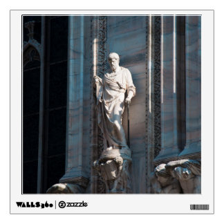 Milan Cathedral dome statue architecture monument Wall Sticker
