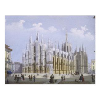 Milan Cathedral from 'Views of Milan and its Envir Postcard