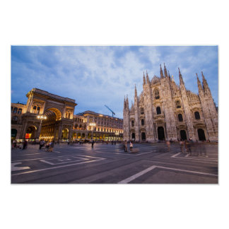 Milan Cathedral , Italy Poster