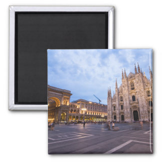 Milan Cathedral , Italy Travel Square Magnet