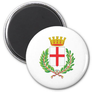 Milan Coat Of Arms 2 Inch Round Magnet