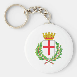 Milan Coat Of Arms Keychain