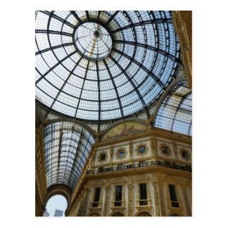 Milan Galleria Postcard