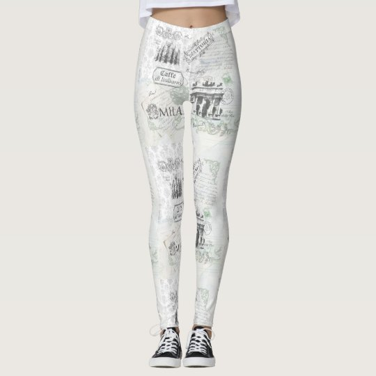 Milan Italian style print leggings
