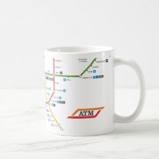 Milan Metro mug