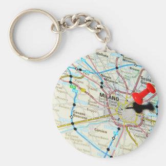 Milan, Milano (Italy) Keychain