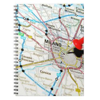 Milan, Milano (Italy) Notebooks