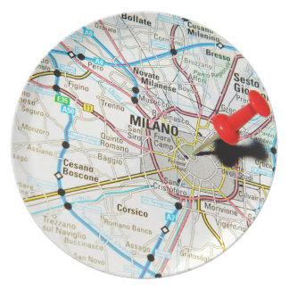 Milan, Milano (Italy) Plate