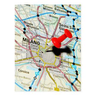 Milan, Milano (Italy) Postcard