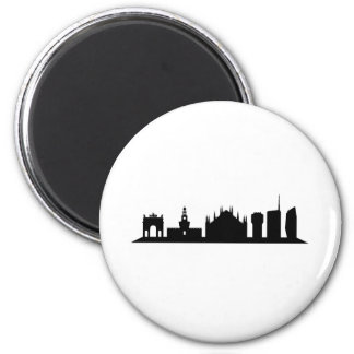 Milan skyline magnet