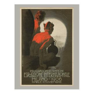 Milan World's Fair 1906 Postcard