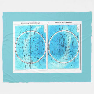 Milanese Map Fleece Blanket