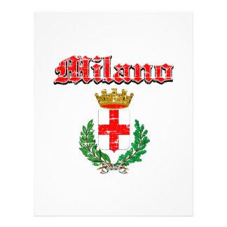 MILANO coat of arm Letterhead