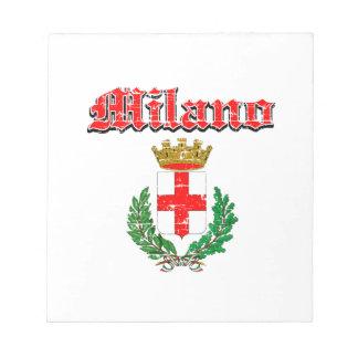 MILANO coat of arm Notepad