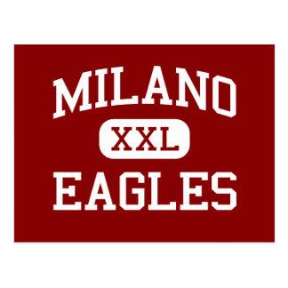 Milano - Eagles - Senior - Milano Texas Postcard