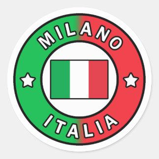 Milano Italia Classic Round Sticker