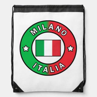 Milano Italia Drawstring Bag