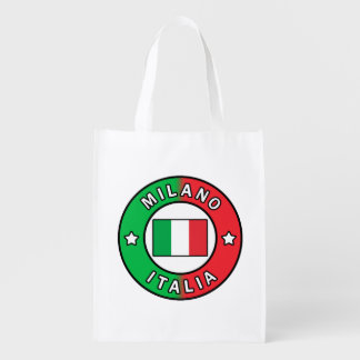 Milano Italia Reusable Grocery Bag
