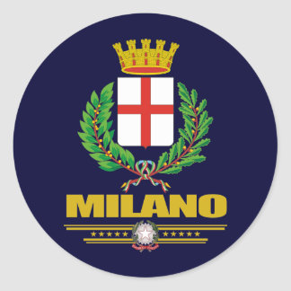 Milano (Milan) Classic Round Sticker