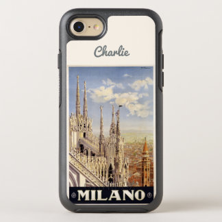 Milano Milan Italy name phone OtterBox Symmetry iPhone 7 Case
