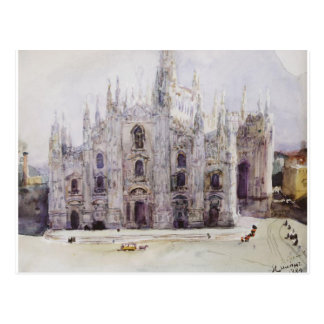 Milan's Cathedral by Vasily Surikov Postcard