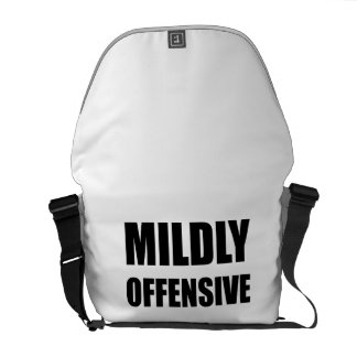 Mildly Offensive Courier Bags