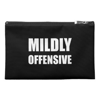 Mildly Offensive Travel Accessories Bags