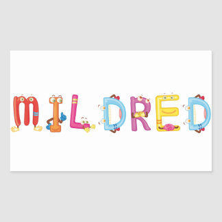 Mildred Sticker