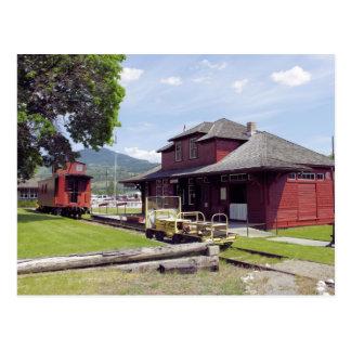 Mile 0 Museum Postcard