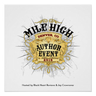 Mile High Author Event Poster Perfect Poster