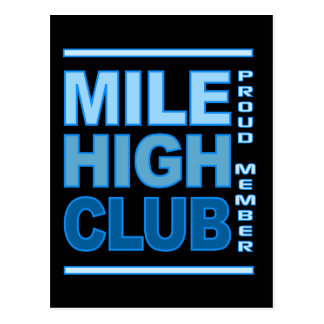 Mile High Club postcard