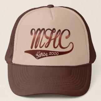 "mile high club since ""custom year"" cap design"