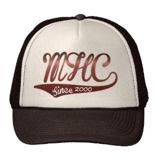 "mile high club since ""custom year"" cap design trucker hat"