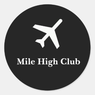 Mile High Club Sticker