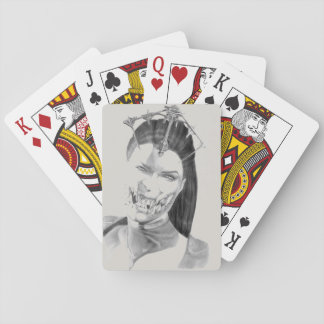 Mileena playing cards