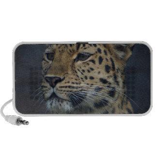Milena the Amur Leopard PC Speakers