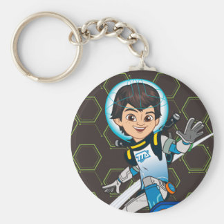 Miles Callisto Riding His Blastboard Keychain