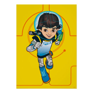 Miles Callisto Running Poster