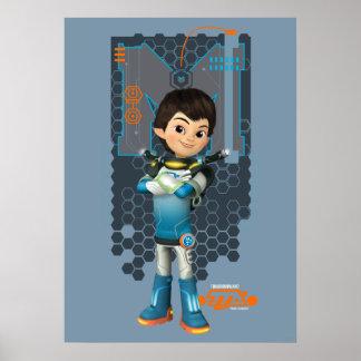 Miles Callisto Tech Graphic Poster