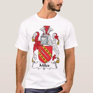 Miles Family Crest T-Shirt