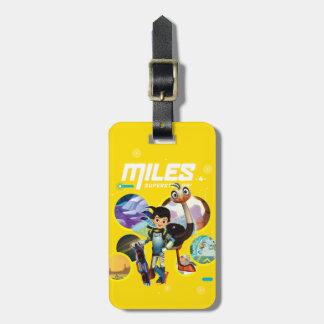 Miles Superstellar & MERC Robotic Sidekick Luggage Tag