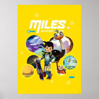 Miles Superstellar & MERC Robotic Sidekick Poster