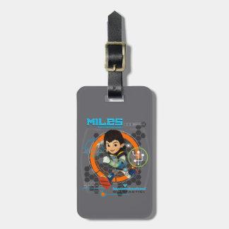 Miles Superstellar Running Graphic Bag Tag